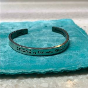Jewelry - STRONG IS THE NEW SKINNY BRACELET